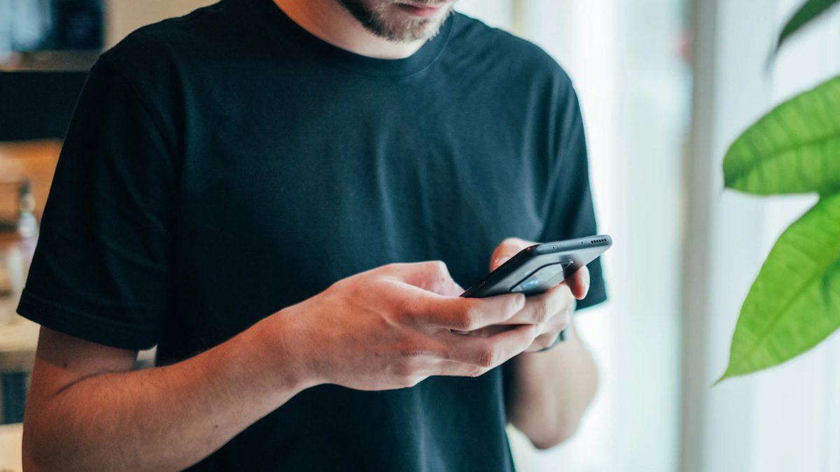 A Smartphone User