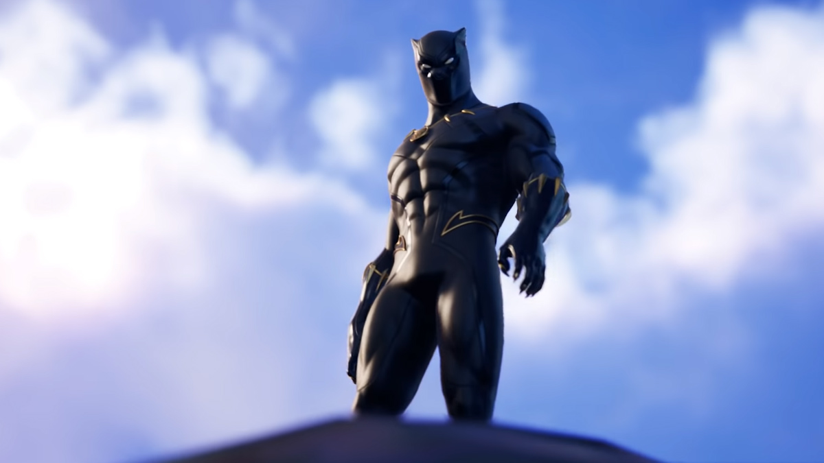 Black Panther on Fortnite
