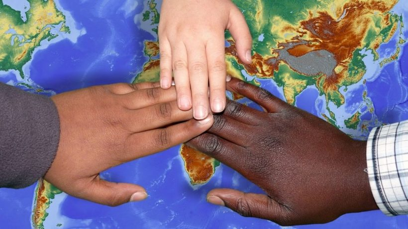 Hands Of People Across The World