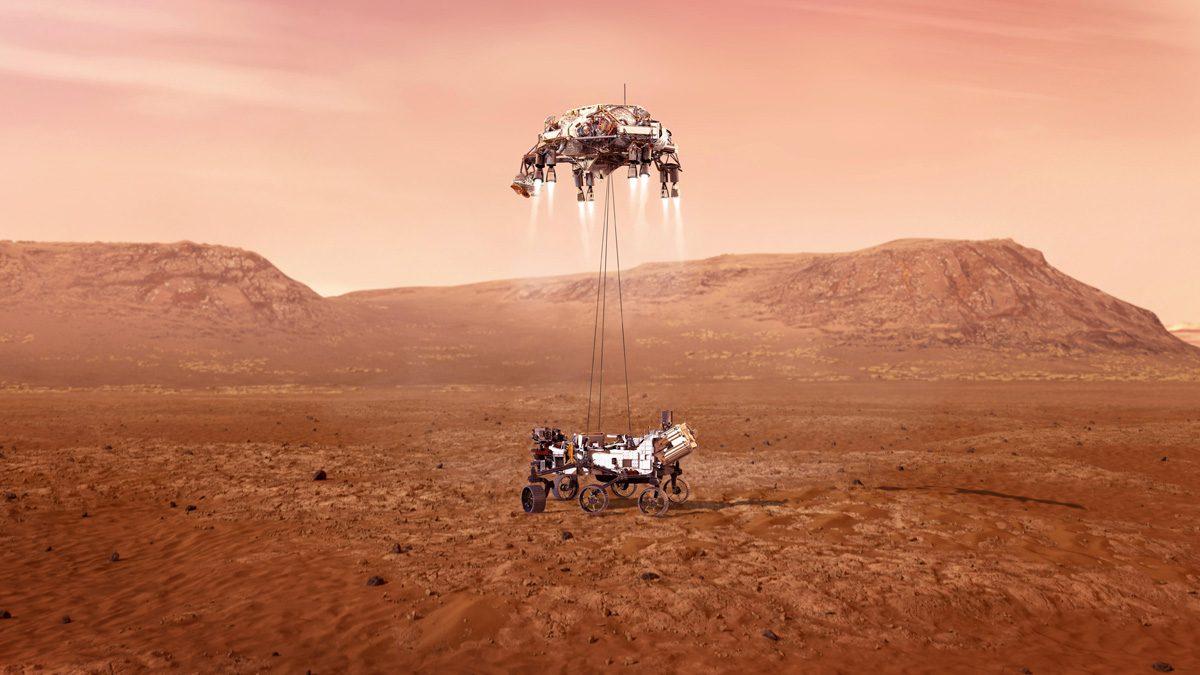 Nasa Perseverance Rover Landing