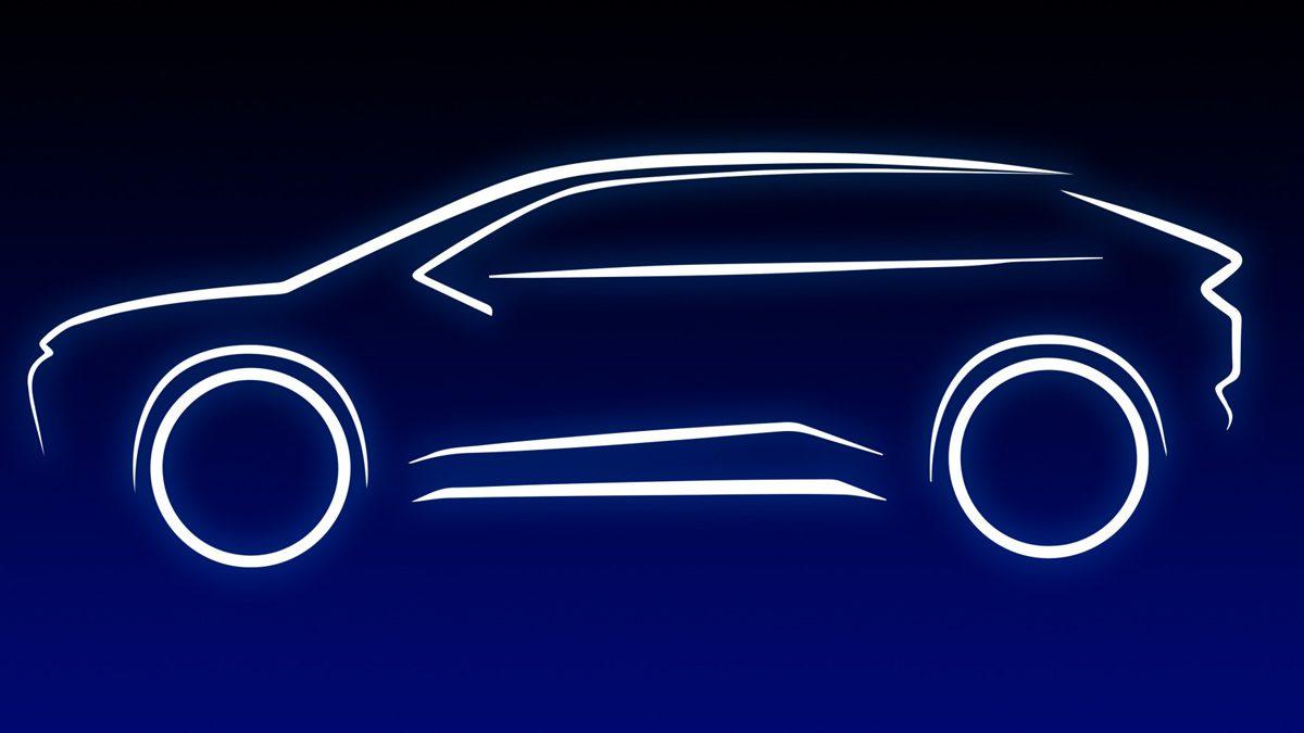 Toyota e-TNGA Platform SUV