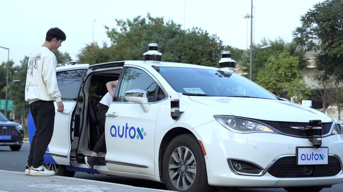 AutoX Driverless Car
