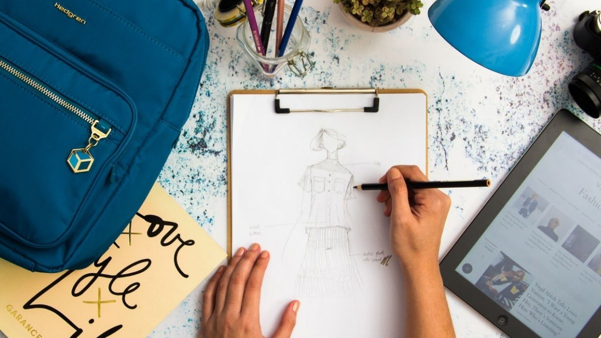 Photo Of Fashion Sketch