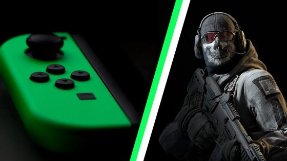 Nintendo Switch and Call of duty