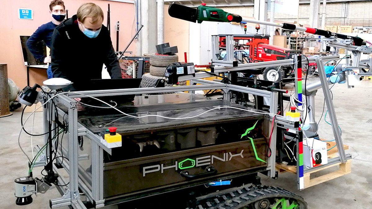 Pole Pruner Autonomous Robot