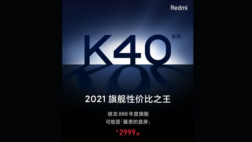 Redmi K40 Series China