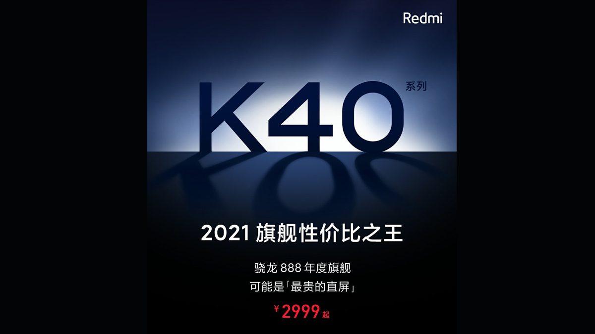 Redmi K40 Series China