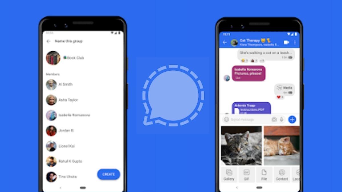 Signal App Screen