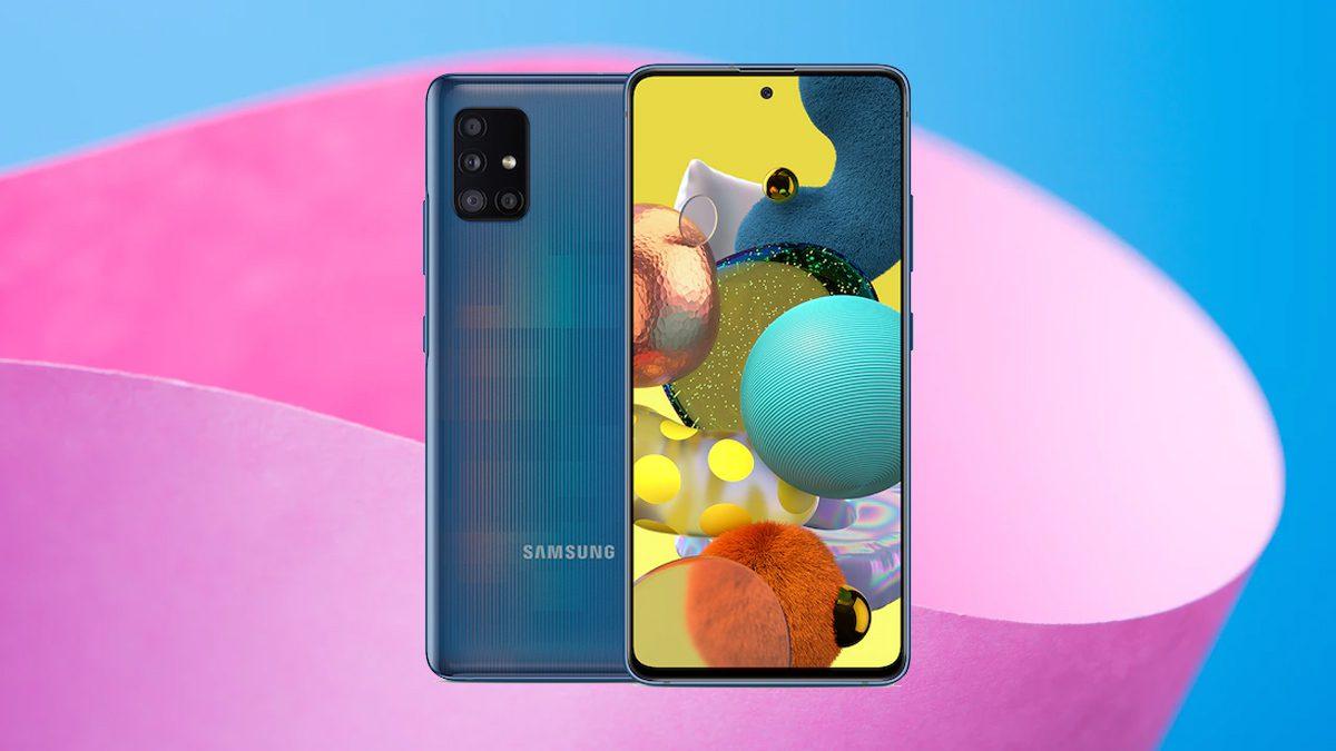 Samsung Galaxy A51 Update