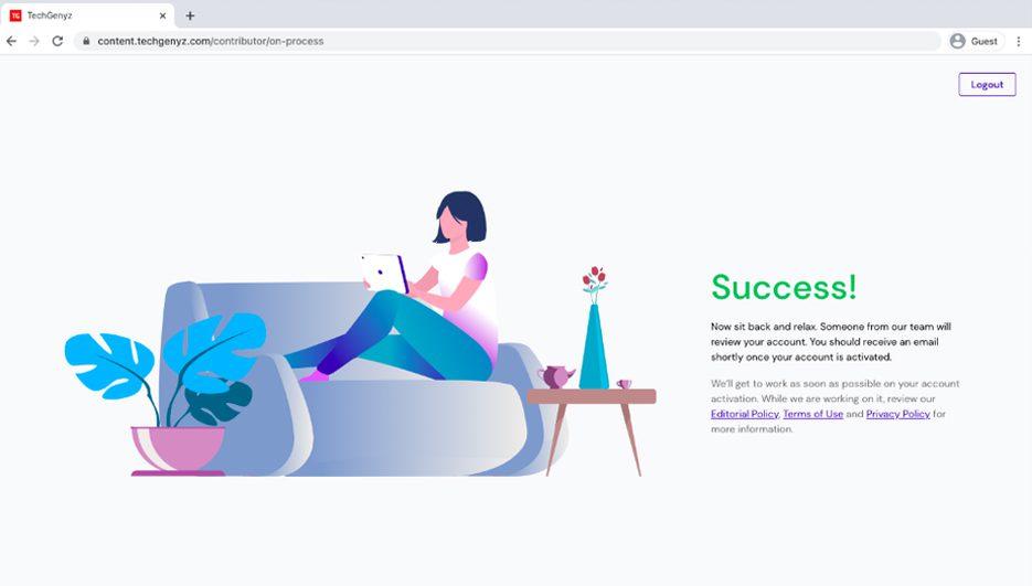 TG Success Page