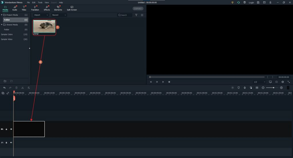 Make Youtube Shorts Videos-in-filmora-x-4