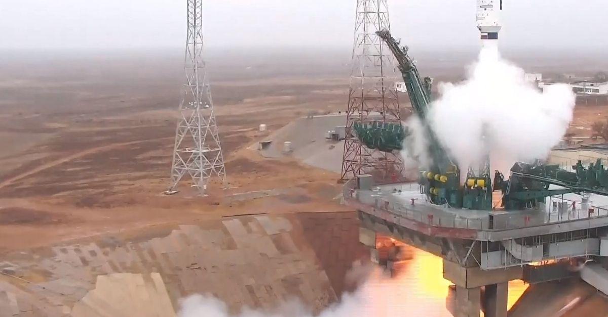 Soyuz Satellite Launch