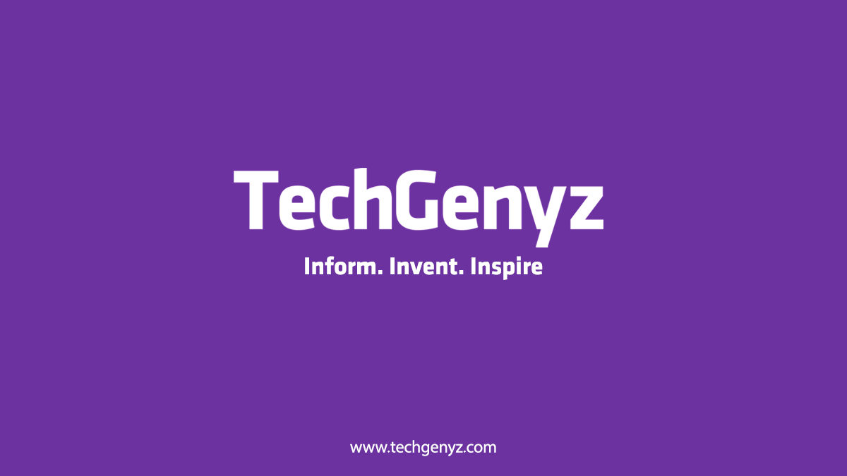 TechGenyz Feature Image