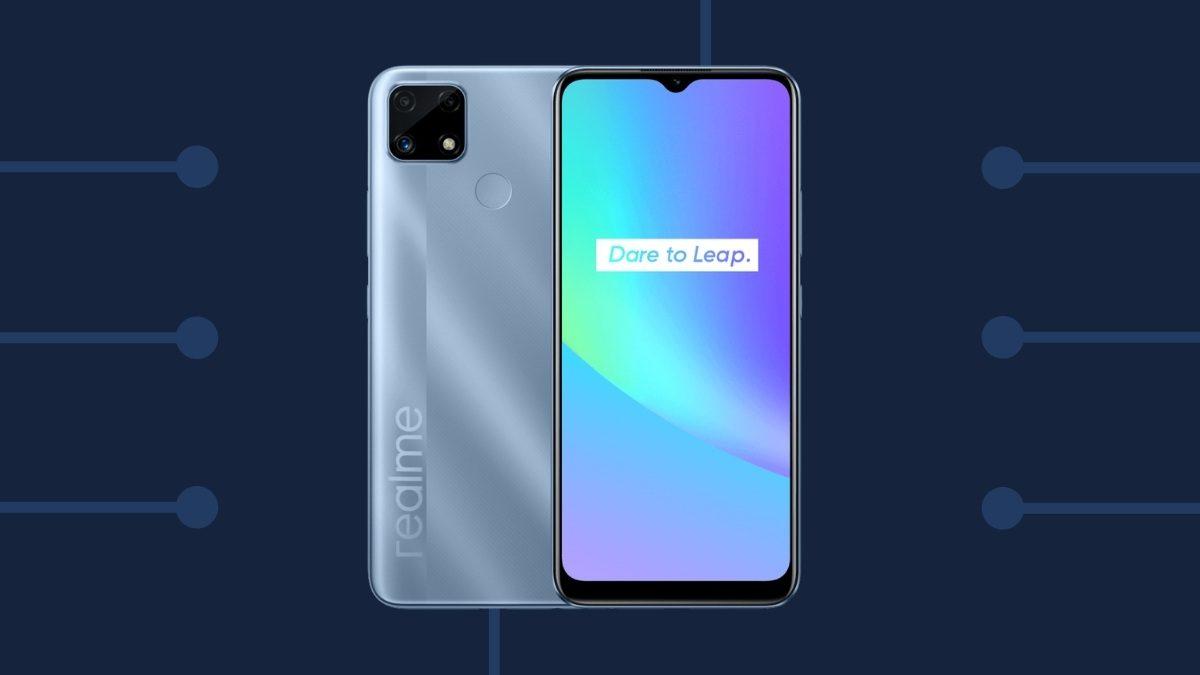 Realme C25 smartphone