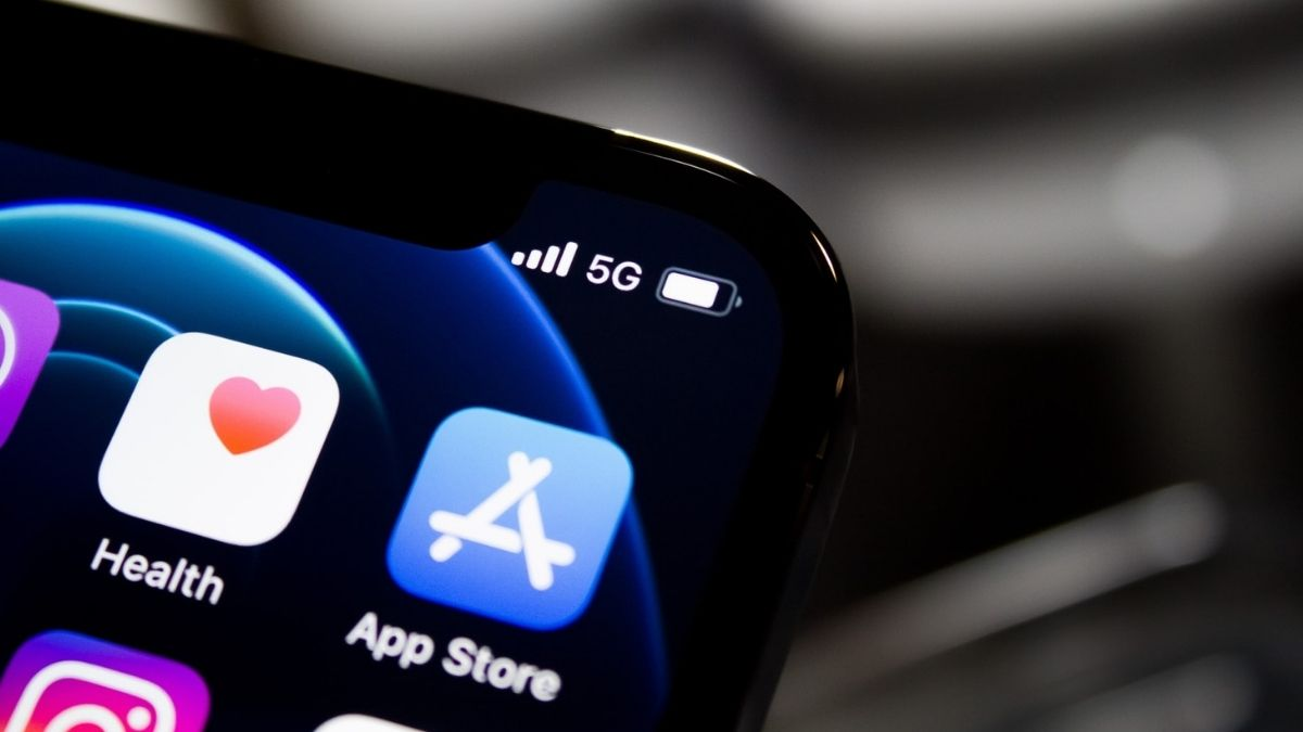 App Store On Phone Screen