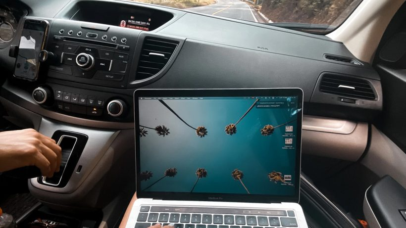 Charge MacBook in Car