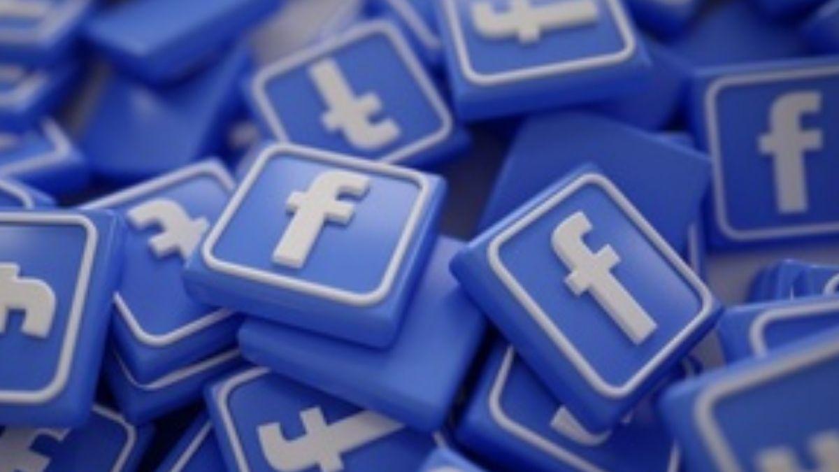 Facebook Pile Of 3D Logos