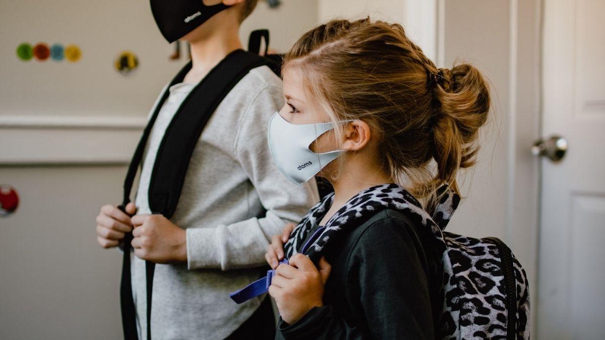 Kids Wearing Mask