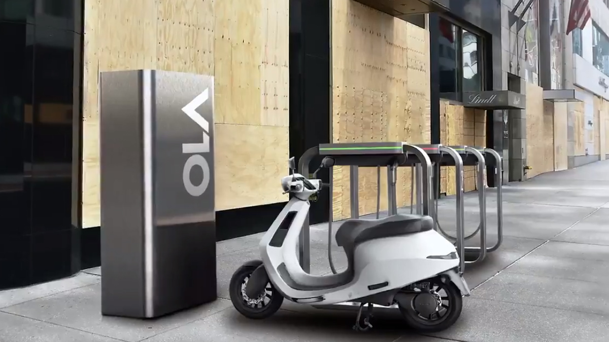 Ola Electric Charger Network