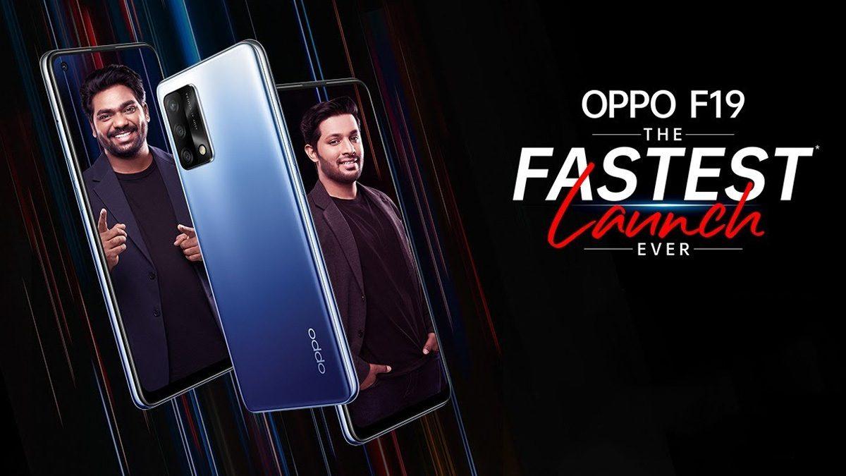 Oppo F19 Smartphone