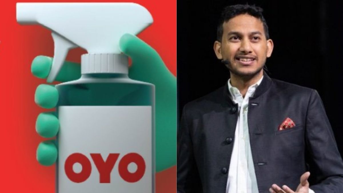 OYO Sanitizer And CEO