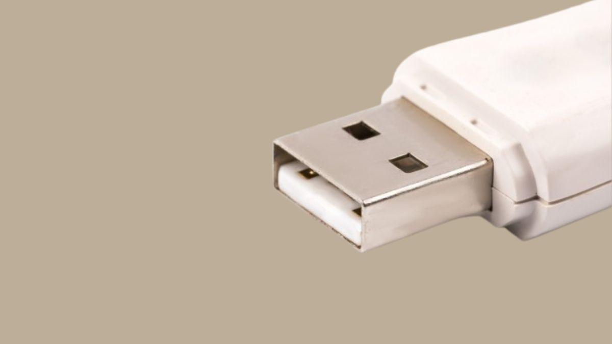 A Closeup Photo Of A Pendrive