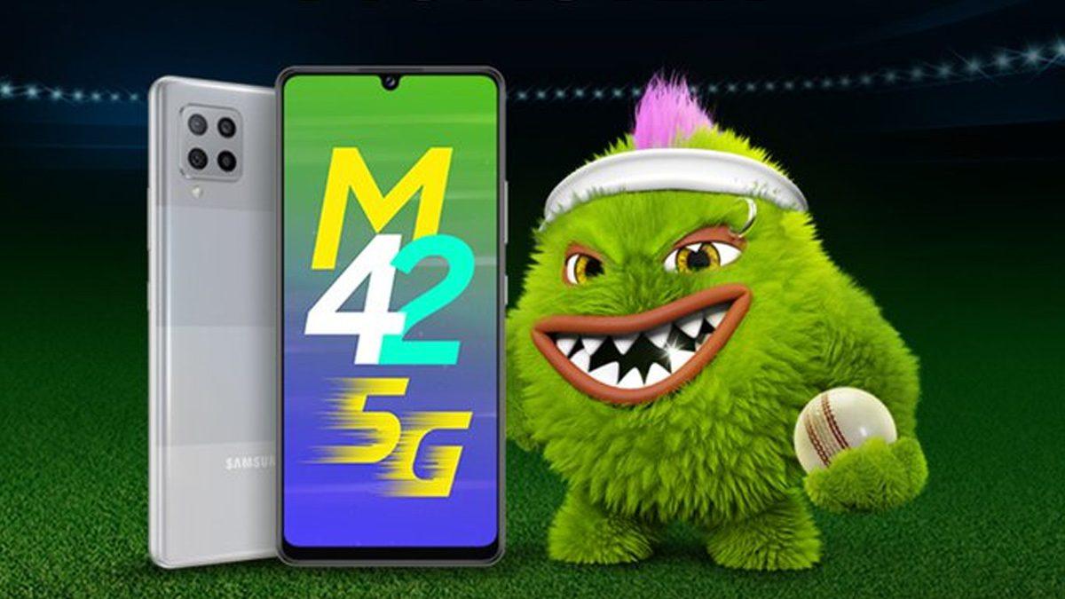 Samsung Galaxy M42 Smartphone