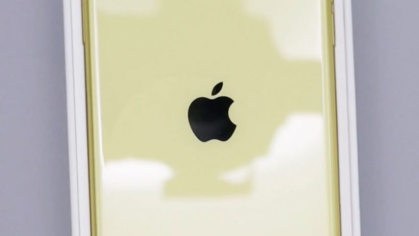 Apple Logo Golden Color