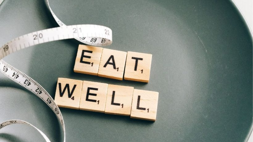 Eat Well Plate And Measuring Tape