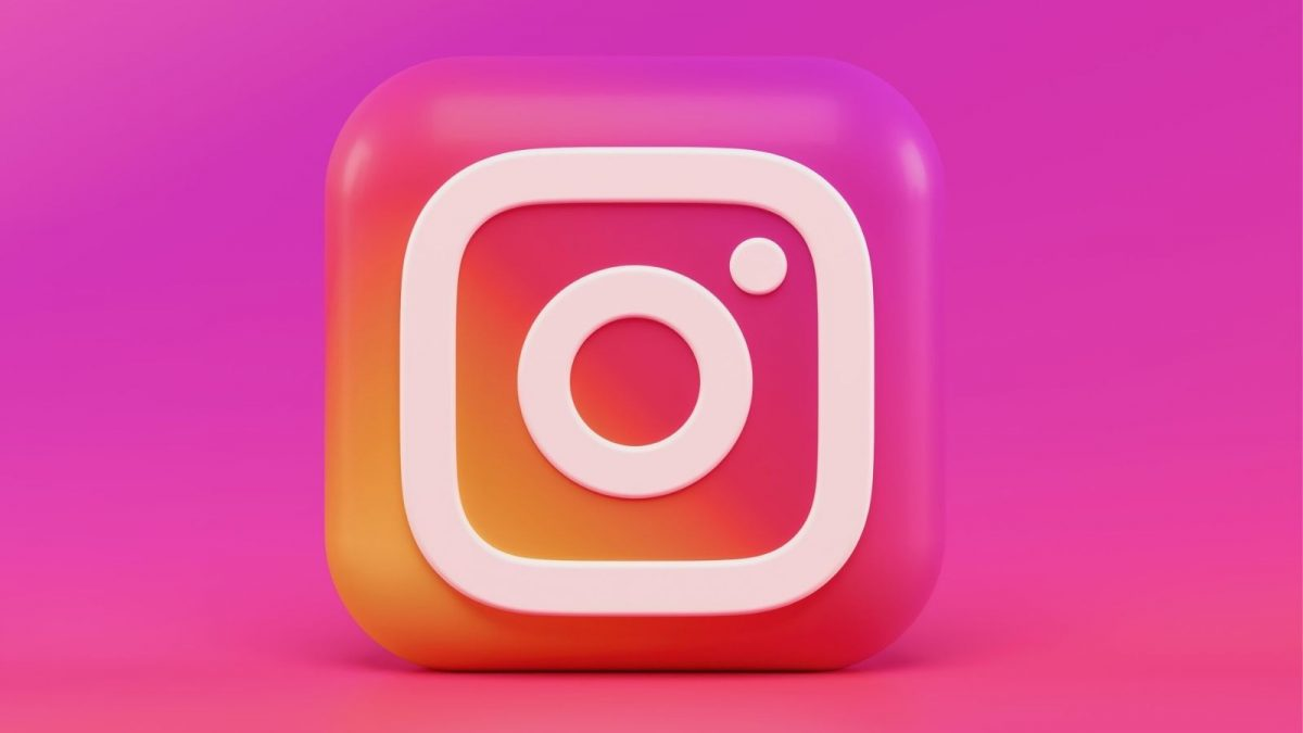 Instagram Pink And White Logo