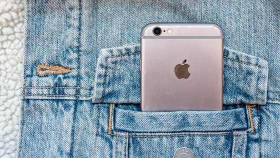 iOS Device In Pocket