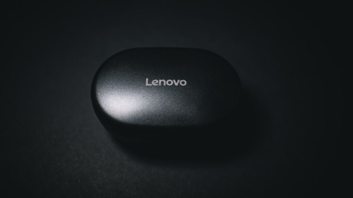 Black Lenovo Laptop Computer Mouse