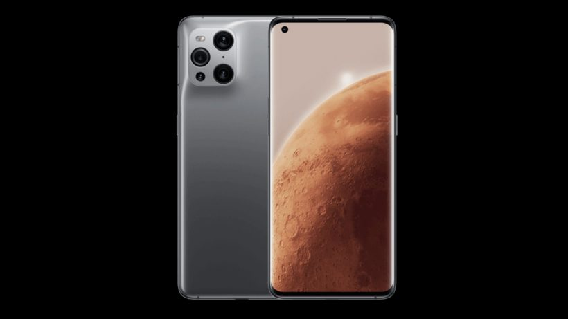 Oppo Find X3 Mars Ediition