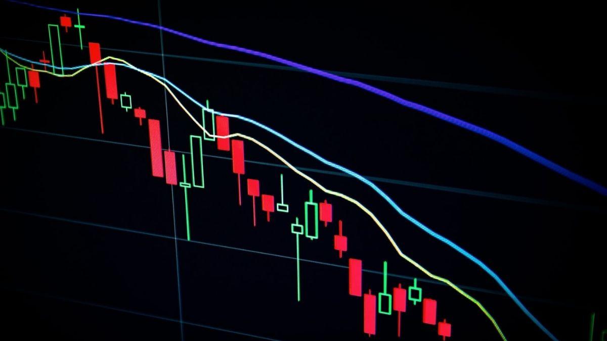 Stock Market Values Graph