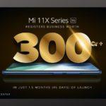 Xiaomi 11X series sale