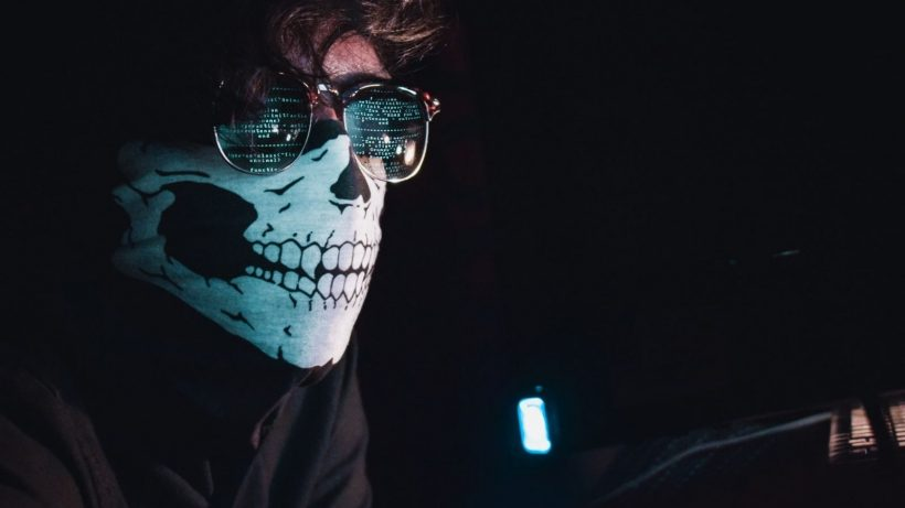 Person Wearing Mask Photo