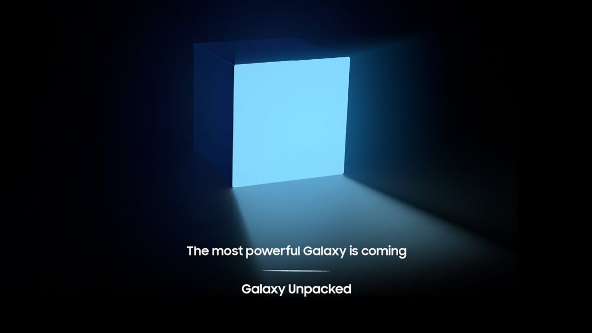 Galaxy Unpacked Event