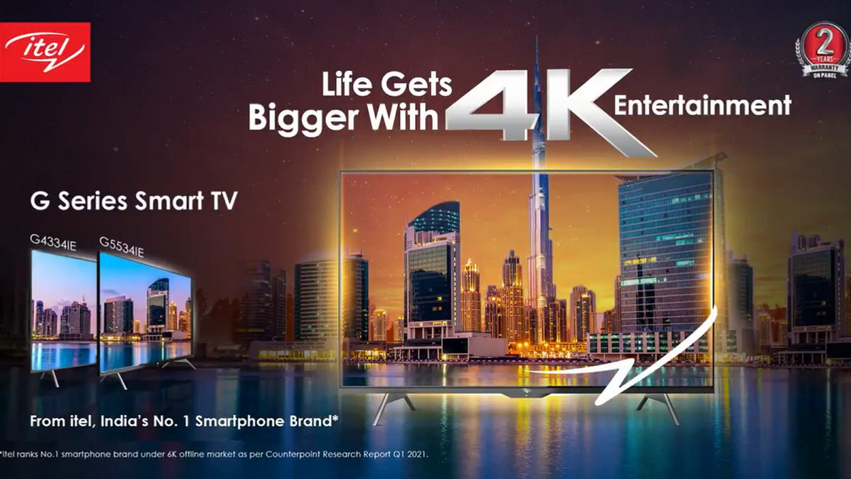 itel 4k Android TV