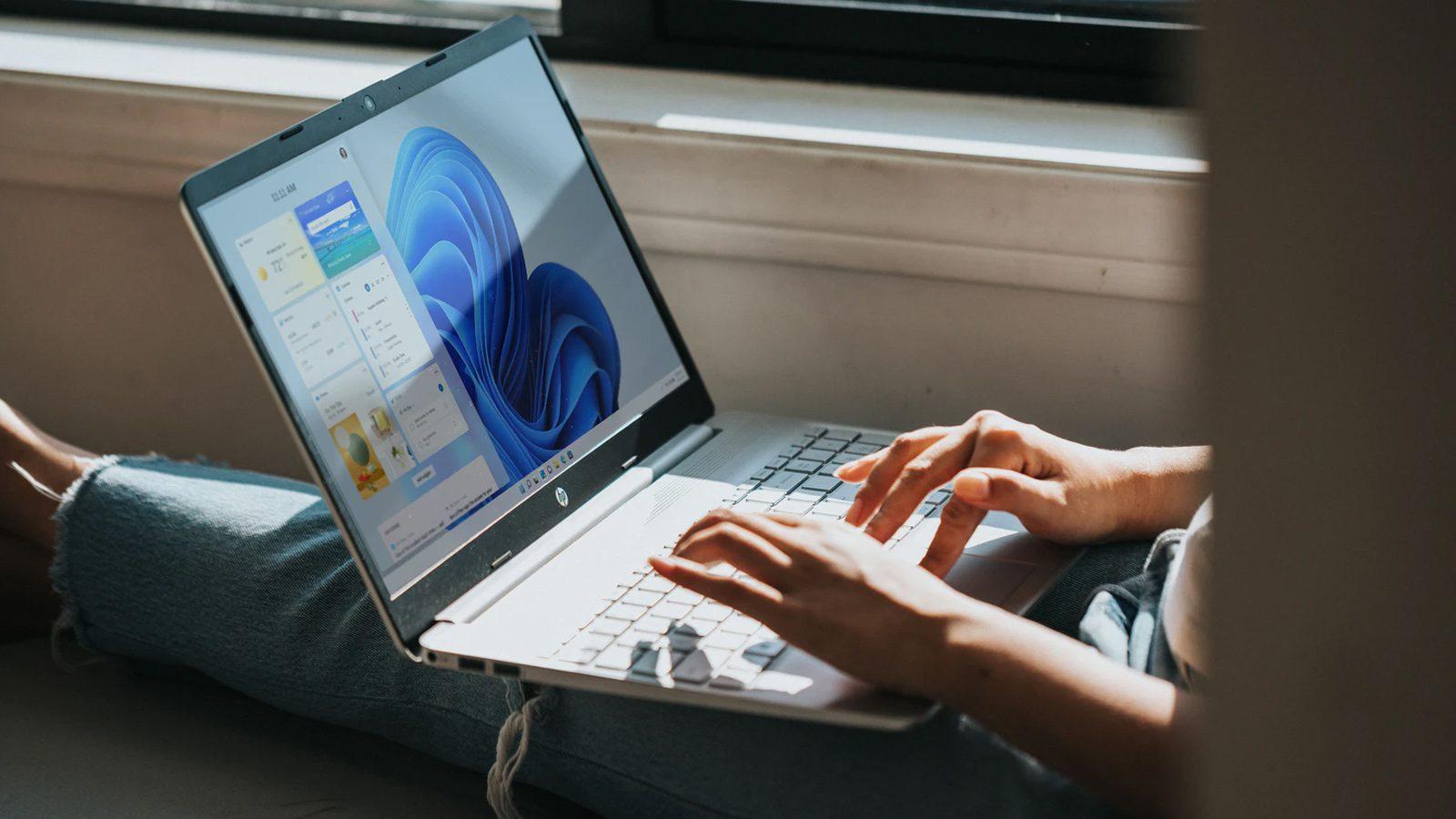 Microsoft Chrome Webpage