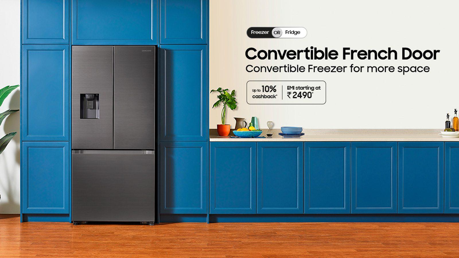 Samsung 3 Door Refrigerators
