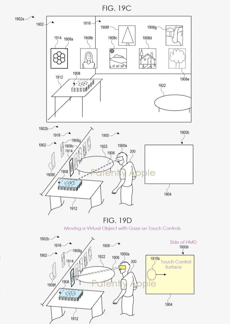 Apple Patent Headset 19C
