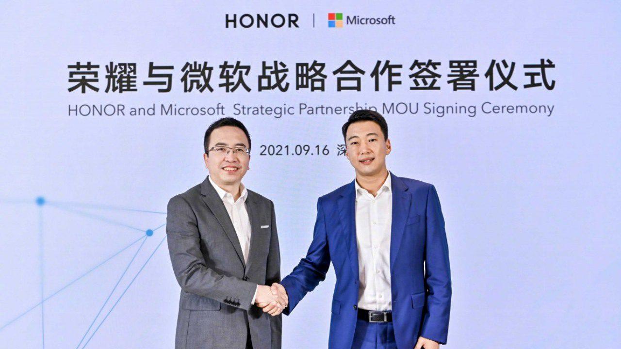 Honor Microsoft Partnership