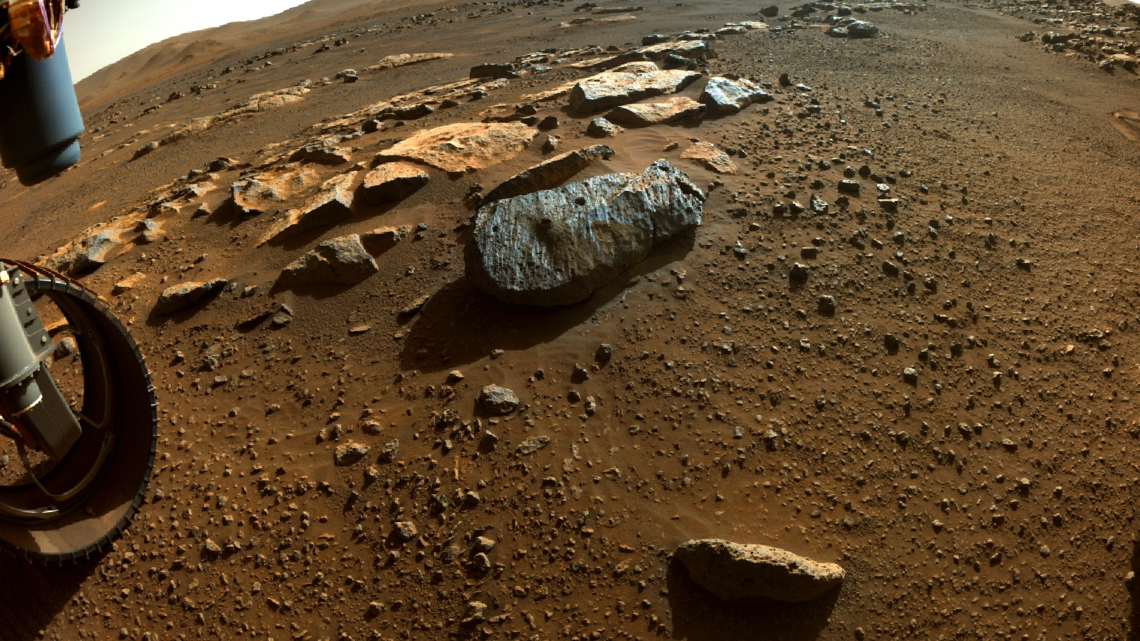 Puzzle Pieces of Mars