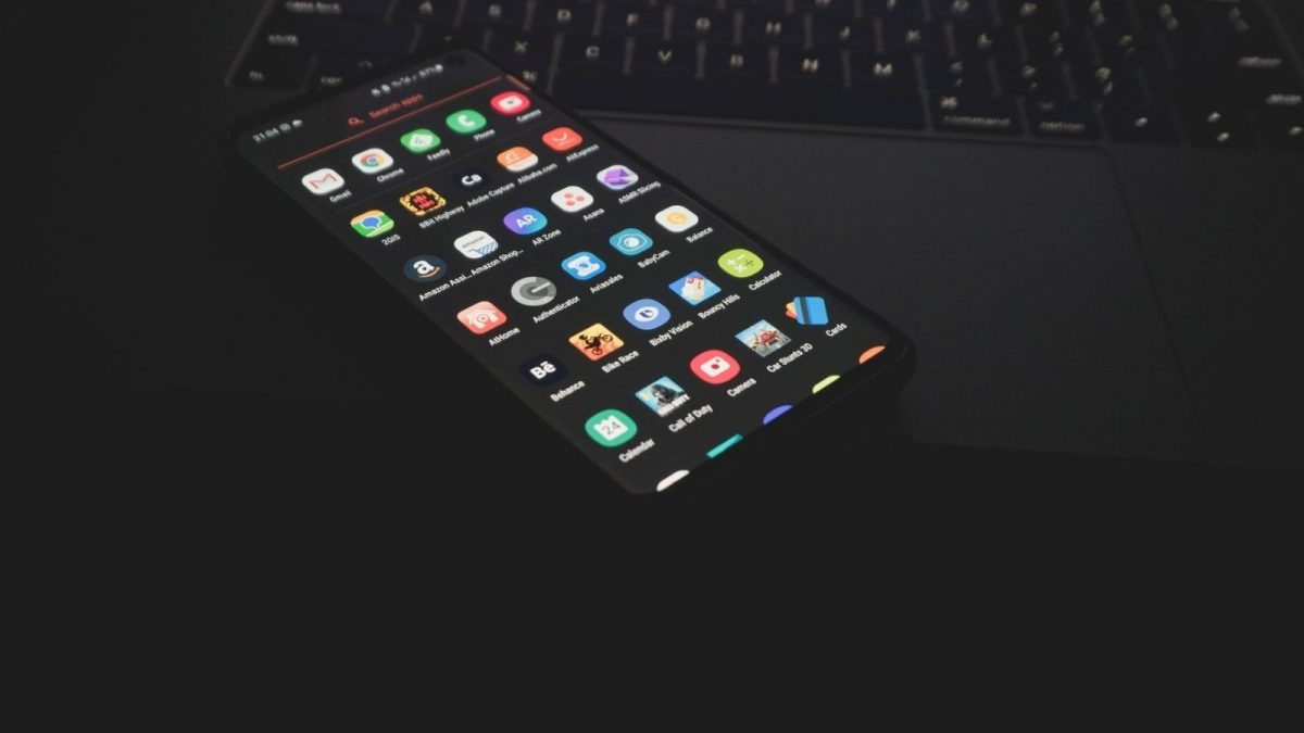Android Apps On Dark Screen