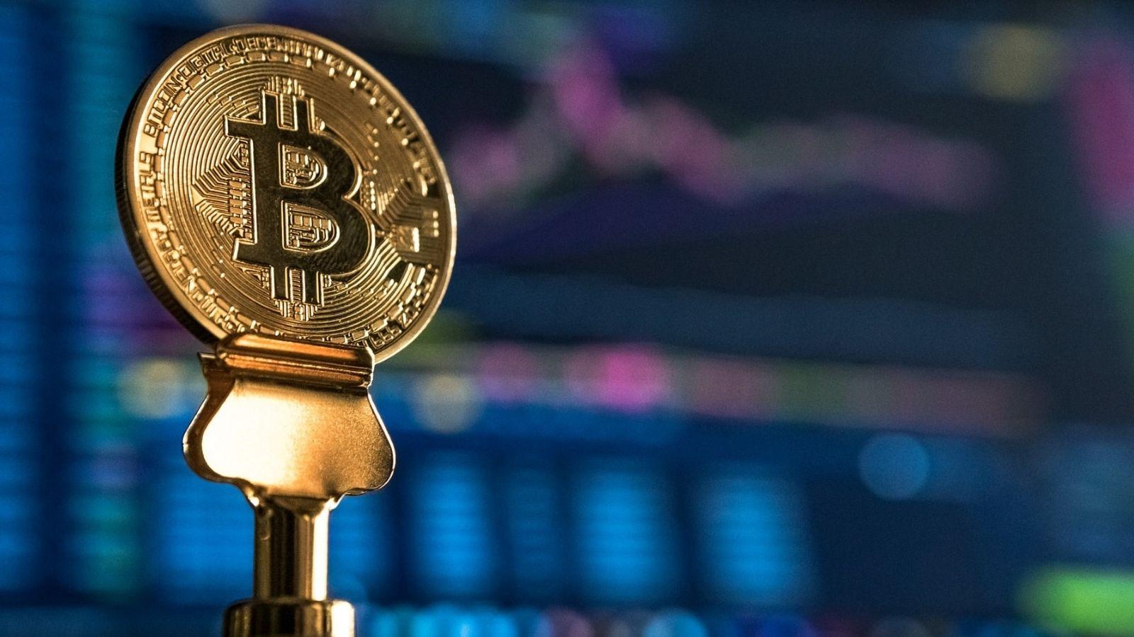 Bitcoin Near Monitor