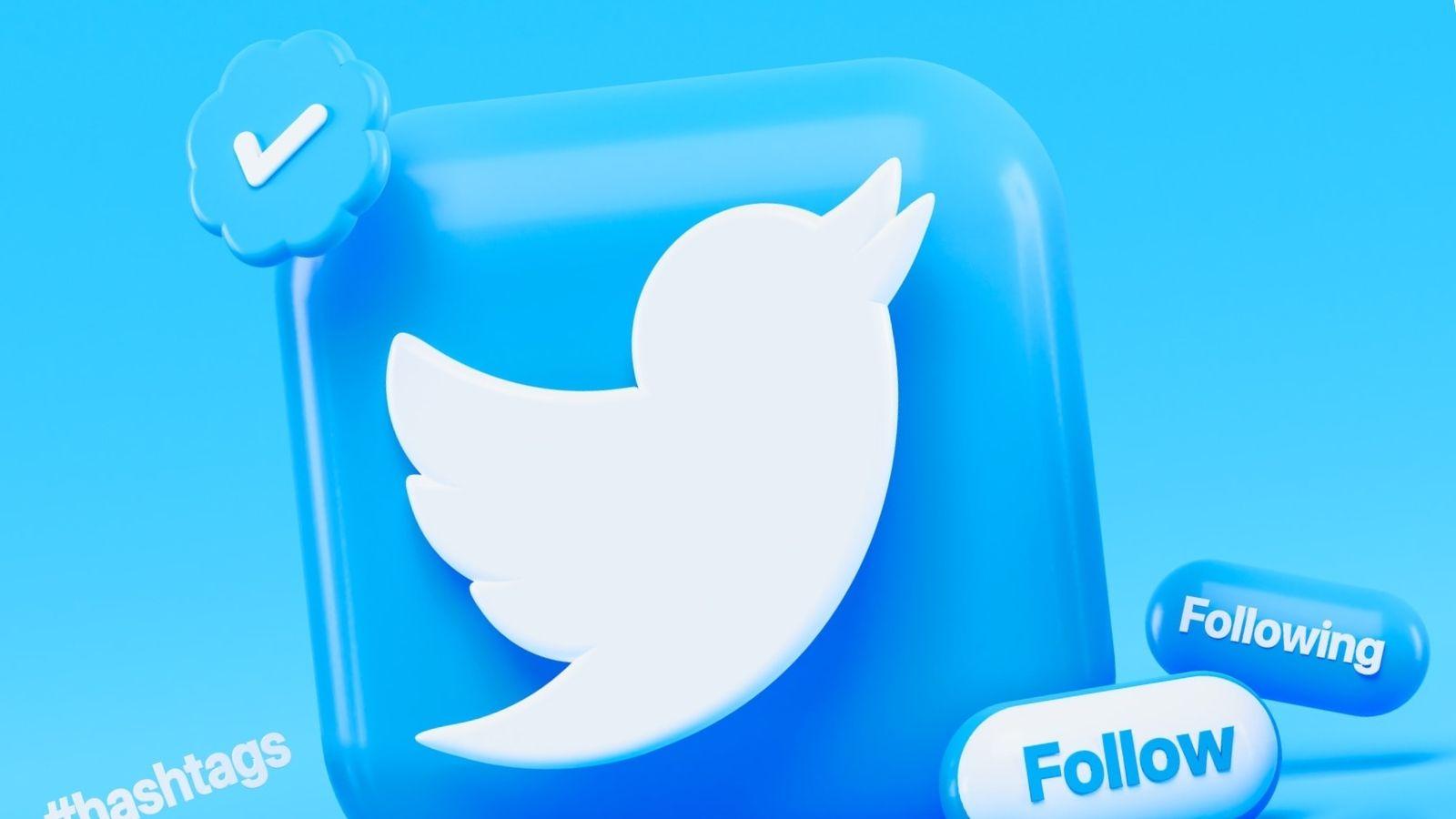 Twitter Follow Following